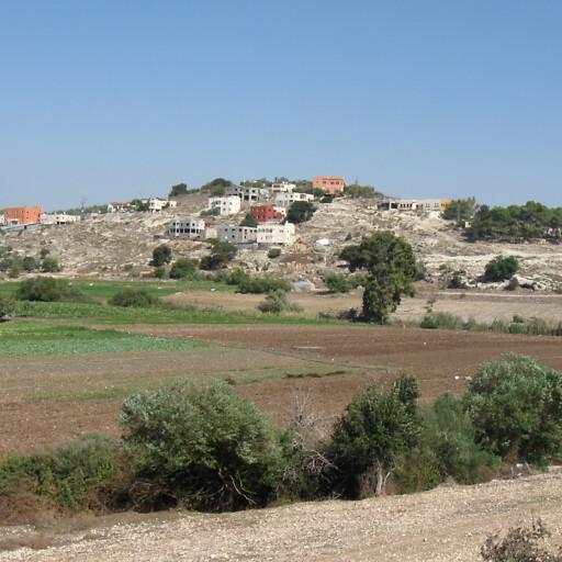 panorama of Tel Alil