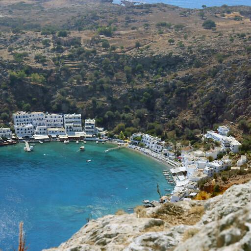 panorama of Loutro