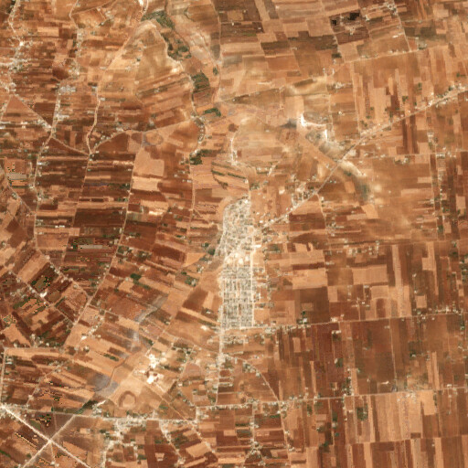 satellite view of the region around Al Zaafaraniyah