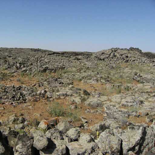 panorama of stones in Lajat