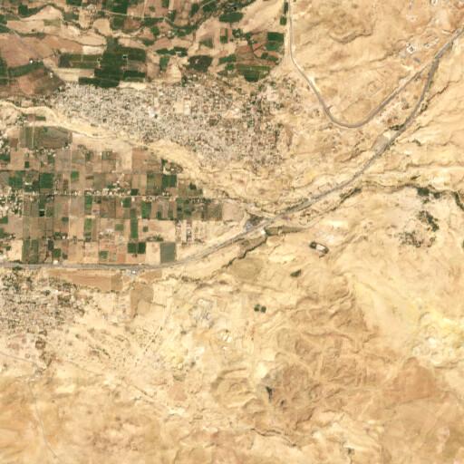 satellite view of the region around Tall Iktanu