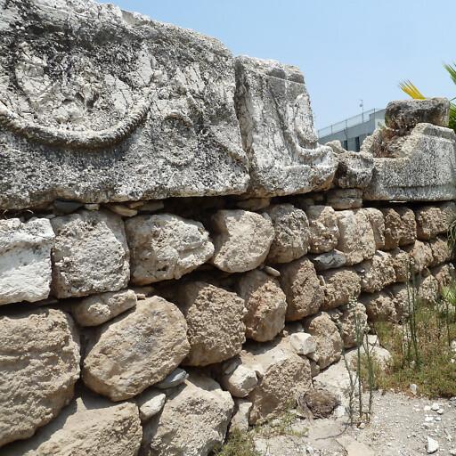 ruins at Afula