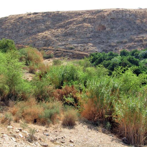 panorama of Wadi al Fara