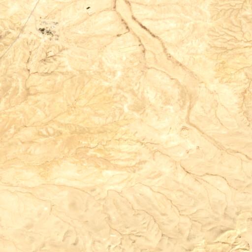 satellite view of the region around Mezad Refed
