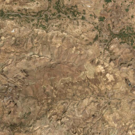 satellite view of the region around Azal
