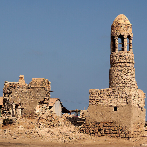 ruins at Zeila