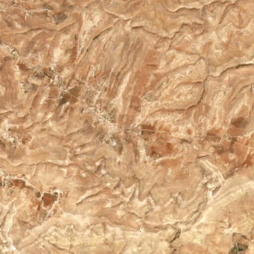 satellite view of the region around Al Qurayyat
