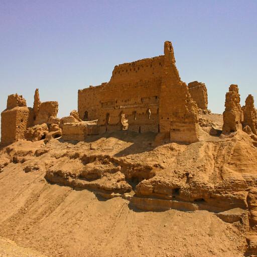 ruins at Al Rahba