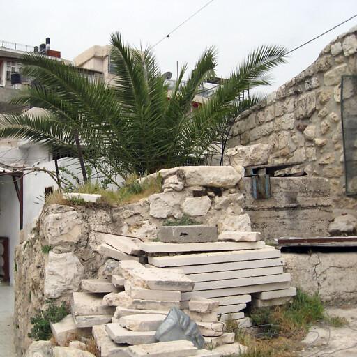 building at Bir Ayub