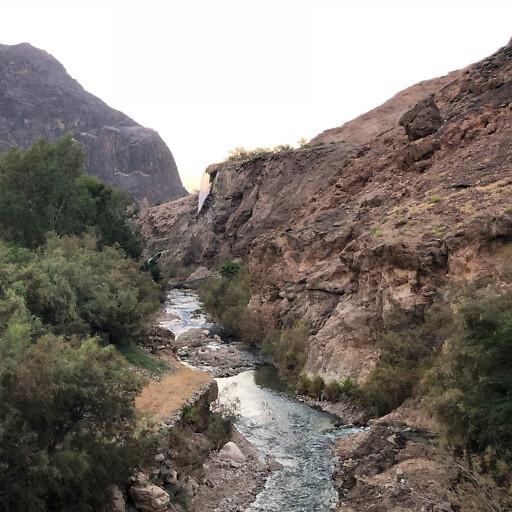 panorama of Wadi Zerqa Main