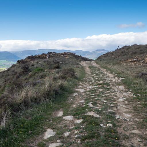Roman road in Hispania