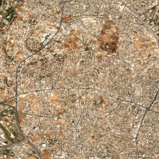 satellite view of the region around Karkagheisch