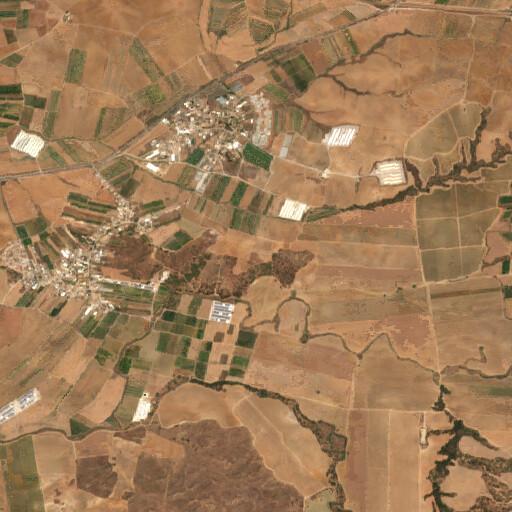 satellite view of the region around Khirbet Summeily