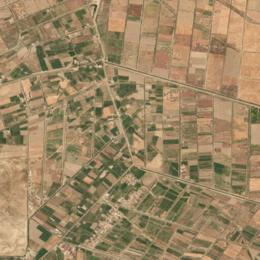 satellite view of the region around Opis