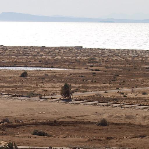 panorama of part of El Qaa