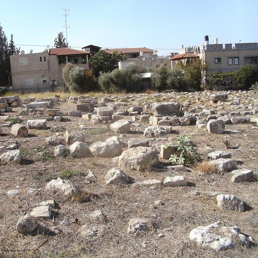 cemetery at Kefr Yasif