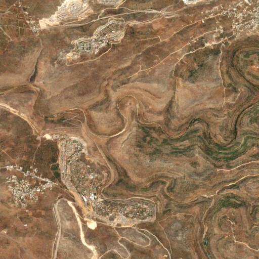 satellite view of the region around Ain Seridah