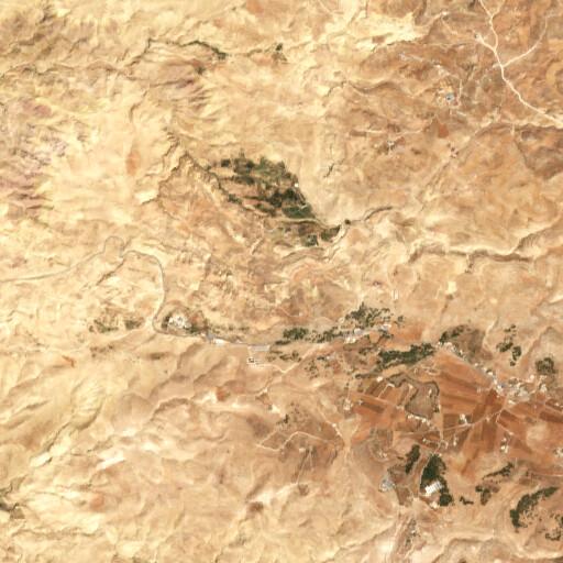 satellite view of the region around Tila as Safa