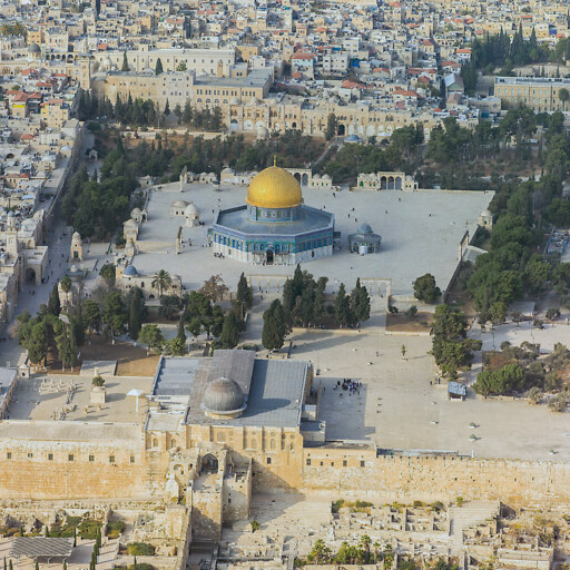 Dome of the Rock on Mount Moriah