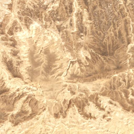 satellite view of the region around En Orahot