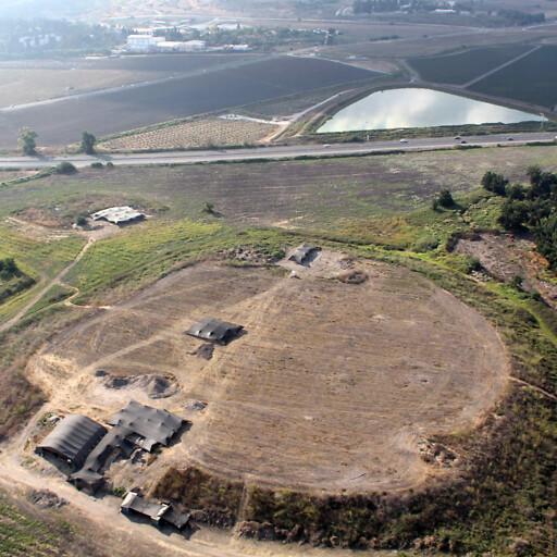 aerial panorama of Tel Esur