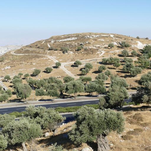 hill at Mar Elias