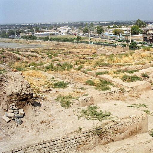 ruins at Tell Hagmatana
