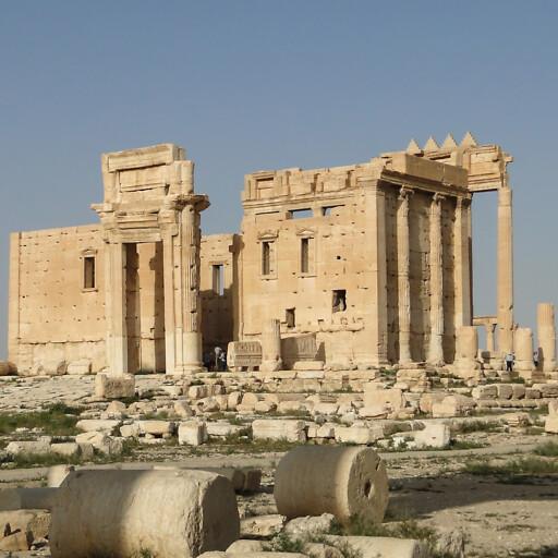 ruins at Palmyra