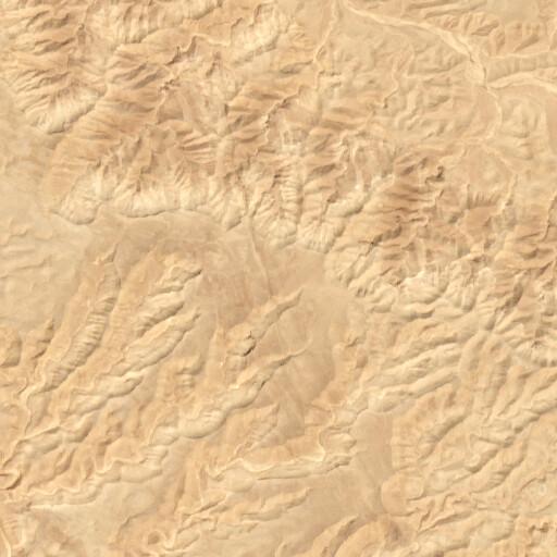 satellite view of the region around Jabal Ataqah