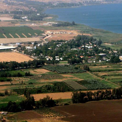 aerial panorama of part of El Ghuweir