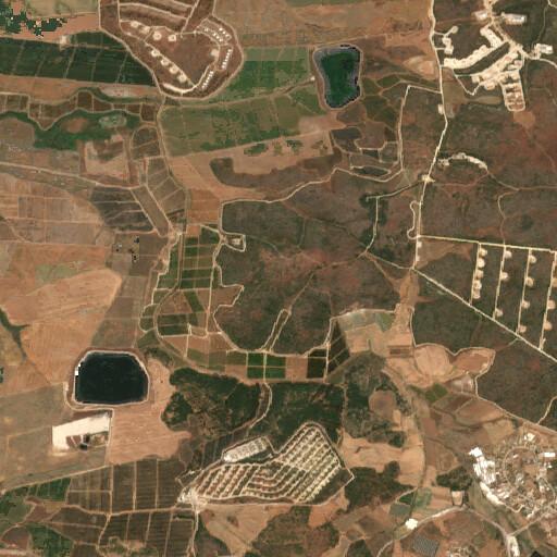 satellite view of the region around Jilya