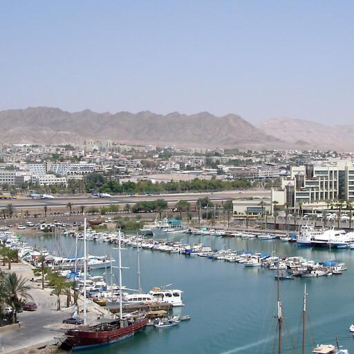 cityscape of Eilat