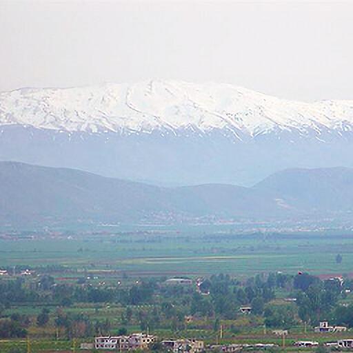 panorama looking southeast at Mount Amana