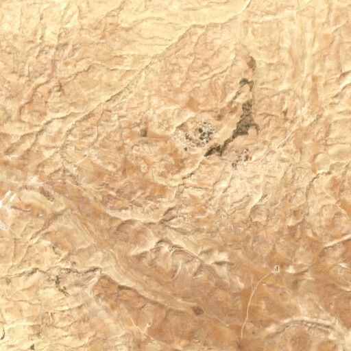 satellite view of the region around Ras Rihab
