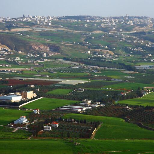 panorama of Al Baqa'a