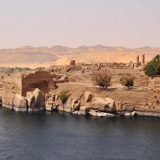 ruins at Aswan