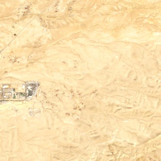 satellite view of the region around Khirbet Umm es Salafe
