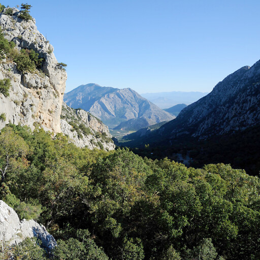 panorama of mountains in Pamphylia