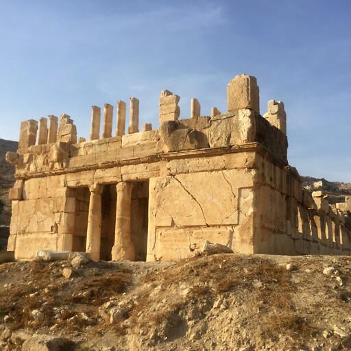 building at Iraq al Amir