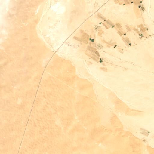 satellite view of the region around Wadi es Salmaneh