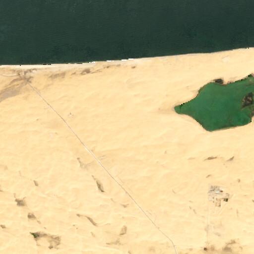 satellite view of the region around Al Mahamdiyah