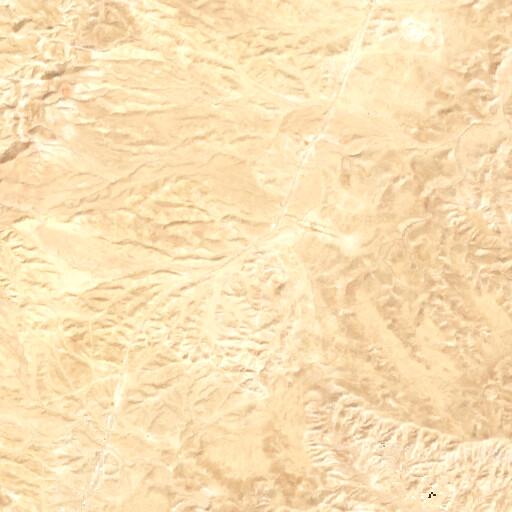 satellite view of the region around Khirbet es Samrah