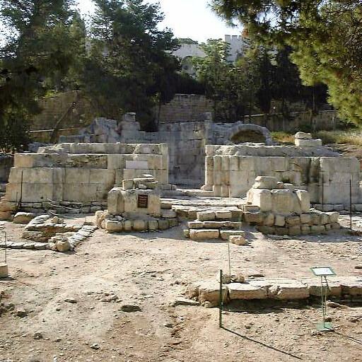ruins at Emmaus Nicopolis