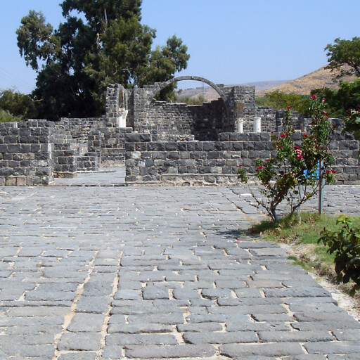 ruins at Kursi