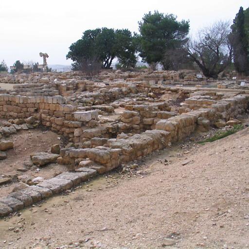 ruins at Ramat Rahel