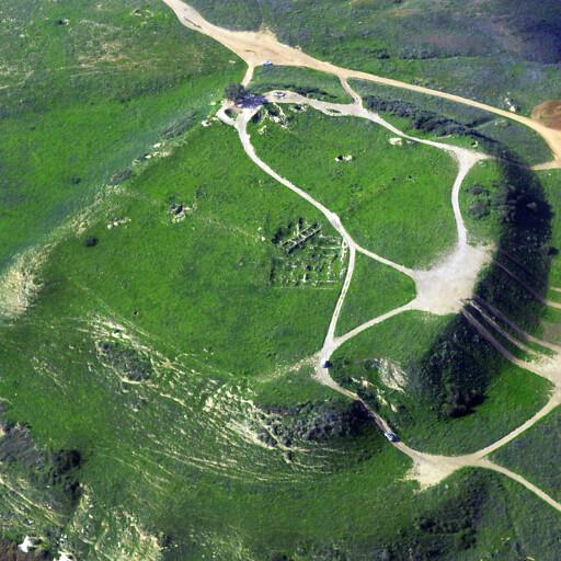 aerial panorama of Tel Nagila