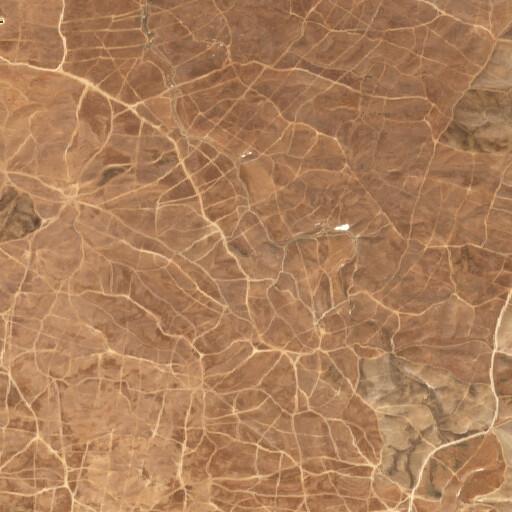 satellite view of the region around Tel Kelekh