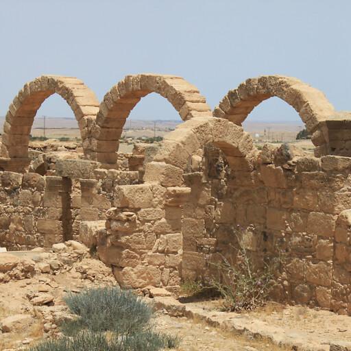 ruins at Umm ar Rasas