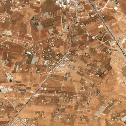 satellite view of the region around Umm el Amad