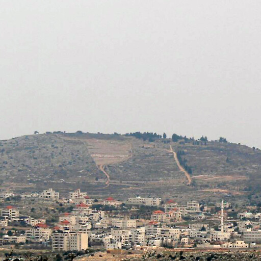 panorama of Jebel Asur
